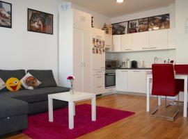 Trendy Danube Apartment - Close to UN, pet-friendly hotel in Vienna