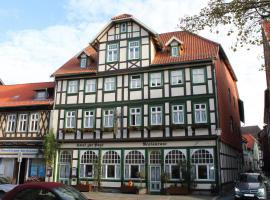 Hotel Garni zur Post, hotel in Wernigerode