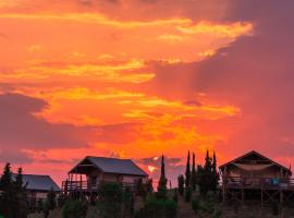 Glamping Diacceroni, luxury tent in Villamagna