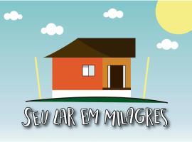 Seu Lar em Milagres, pet-friendly hotel in São Miguel dos Milagres