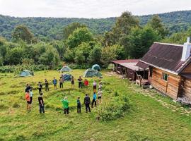 Eco campsite ZeroPoint, hotel near Temple Agua, Novoprokhladnoye