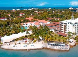Coral Beach Hotel、ダル・エス・サラームのホテル
