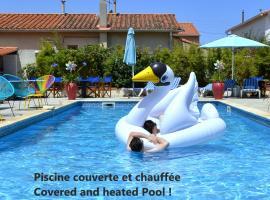 Le Galion Canet Plage - Logis, hotel in Canet-en-Roussillon