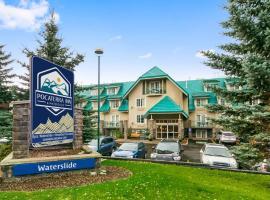 Pocaterra Inn & Waterslide, hotel in Canmore