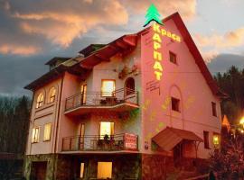 Краса карпат, готель у місті Яремче
