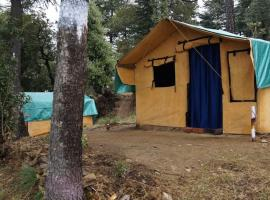 Nomad village, campsite in Shimla