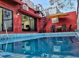 PIKASA 411, Pool Party Villa, hotel in Mumbai