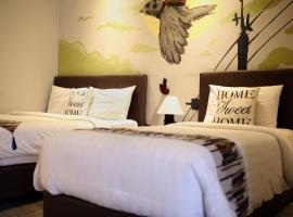 Shine BnB, family hotel in Cianjur