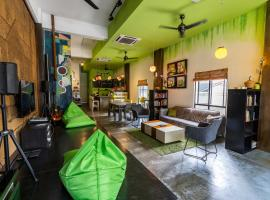 PODs The Backpackers Home & Cafe, Kuala Lumpur, hostel in Kuala Lumpur