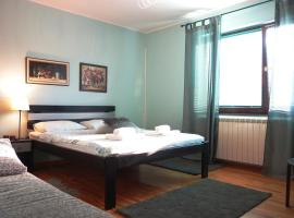 Villa Quantum Beograd: Belgrad'da bir Oda ve Kahvaltı