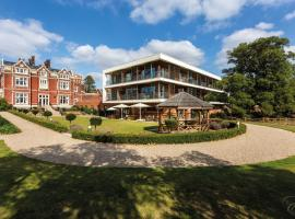 Wivenhoe House Hotel, hotel in Colchester