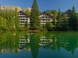 Hotel Lago di Braies, hotel near Lake Braies, Braies