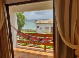 Lindo apartamento com vista para o mar - Village Ilhota 1, budget hotel in Vera Cruz de Itaparica