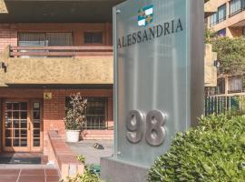 Alessandria Apart - Coronel Pereira, apartamento en Santiago