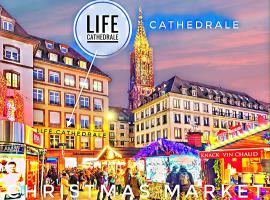 LİFE CATHEDRALE by Life Renaissance - Place Gutenberg, apartment in Strasbourg