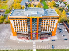 "Гостиница ""Янтарь"", serviced apartment in Elektrostal'"