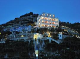 Hotel Botanico San Lazzaro, hotel with pools in Maiori