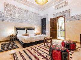 Riad Medina Art Suite & heated Pool, homestay in Marrakesh