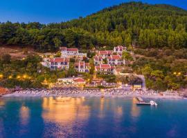Adrina Beach Hotel, hotell i Panormos Skopelos
