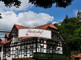Fürstenhof Wernigerode: Wernigerode şehrinde bir otel