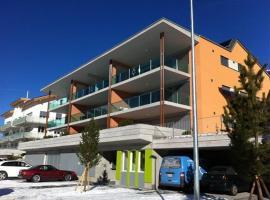 Sonnige Terrasse, hotel in Savognin