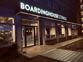 Boardinghouse St.Pauli, Ferienwohnung mit Hotelservice in Hamburg