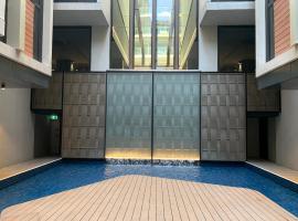 Midnight@Braddon Modern Executive Apt*Pool*Sauna*Secure Parking*Wine, apartment in Canberra