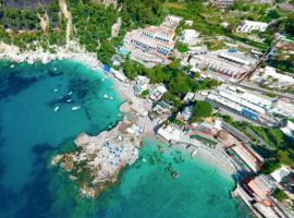 Hotel Weber Ambassador, beach hotel in Capri