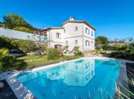 Villa Marine Charming villa with garden in Biot、ビオットのホテル