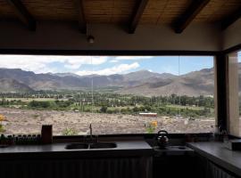 Abra Del Monte casa de familia, vacation rental in Cachí