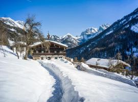 Berg'k'hof Kaisertal - Alpine Hideaway, lodge in Ebbs