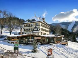 Hotel Praha, отель в городе Шпиндлерув-Млин
