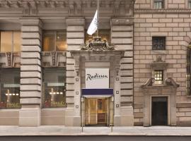 Radisson Hotel New York Wall Street, hotel near One World Trade Center, New York