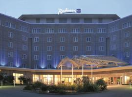 Radisson Blu Hotel Dortmund, hotel with pools in Dortmund