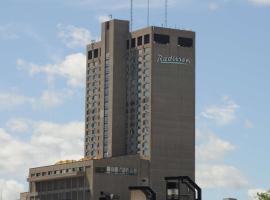 Radisson Hotel Winnipeg Downtown, hotel em Winnipeg