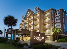 Country Inn & Suites by Radisson, Galveston Beach, TX, hotel in Galveston