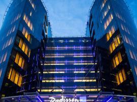 Radisson Blu Hotel Moscow Sheremetyevo Airport, luxury hotel in Khimki