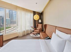 Radisson Blu Hotel, Dubai Canal View, hotel near Al Wajeha Al Maeyah Marine Transport Station, Dubai