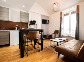les apparts à Albert - authentique et unique, hôtel à Lyon près de: Université Jean-Moulin-Lyon-III