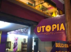 Utopia Hostel, hotel perto de Estação de Ônibus, Aparecida