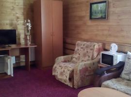 Гостиница Евразия, отель в Зеленой Поляне