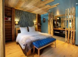 Chalet 1703 - Open Living Hotel, hôtel à Le Petit-Bornand-lès-Glières