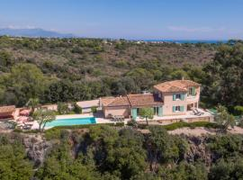 Biot Villa Sleeps 8 Pool Air Con WiFi、ビオットのホテル
