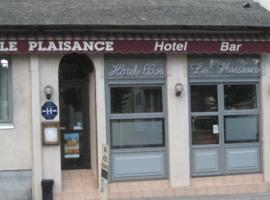 Hotel Plaisance, hotel in Brive-la-Gaillarde