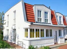 Kapitänshaus Tordalk mit 3 Schlafzimmern, holiday home in Norderney