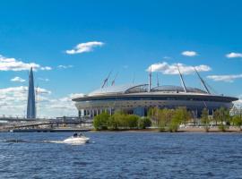 Krasnyi Dom, hotel near Gazprom Arena Stadium, Saint Petersburg