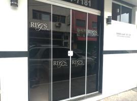 Rigs Hotel, hotel perto de Aeroporto Regional de São José dos Campos - SJK, São José dos Campos