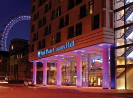 Park Plaza County Hall London, hotel near Waterloo Station, London
