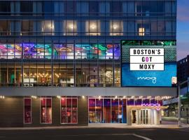 Moxy Boston Downtown, hotel in Boston