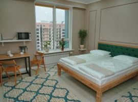 Gagarin Park Halal Apartments, hotel near First President of Kazakhstan Park, Almaty